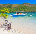 Bangka boat Royalty Free Stock Photo