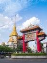 Bangkok chinatown landmark of Stock Photo