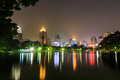 Bangkok city at night view Royalty Free Stock Images