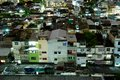 Bangkok city residential area there are a lot of two until fou storeys building Royalty Free Stock Photos