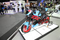 Bangkok december motorcycle with murazaki modify set on d display at the motor expo in thailand Royalty Free Stock Image