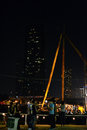 The bangkok dockland the river view from the dock festival that market at this picture is a area of that not use now they pump Royalty Free Stock Images