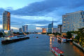 Bangkok at Dusk Royalty Free Stock Images