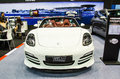 Bangkok international auto salon june porsche boxster car on display at exciting modified car show on june in Stock Image
