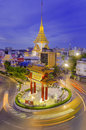 Bangkok july gate of chinatown on july in bangkok thailand arch marks the beginning of famous yaowarat road hear heart it Stock Image