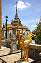 Bangkok kaew phra wat Thailand Obraz Royalty Free