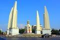 Bangkok Landmark – Democracy Monument Royalty Free Stock Image