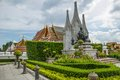Bangkok landscape Royalty Free Stock Photo