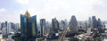 Bangkok panorama view Royalty Free Stock Photo