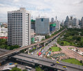Bangkok skyline Royalty Free Stock Photo