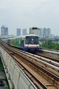 Bangkok Skytrain BTS Royalty Free Stock Images