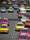 Bangkok taxis Royalty Free Stock Images