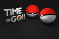 Bangkok,thailand - August 24, 2016 : 3d rendering Illustration of pokeball, a famous game from Pokemon animation
