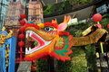 Bangkok, Thailand: Chinese New Year Dragon Royalty Free Stock Photos