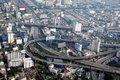 Bangkok, Thailand: City View with Highways Royalty Free Stock Images