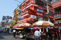 Bangkok, Thailand: Colourful Khao San Road Stock Photography