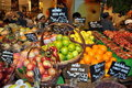 Bangkok, Thailand: Gourmet Supermarket Fruits Royalty Free Stock Images