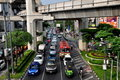 Bangkok, Thailand: Heavy Bangkok Traffic Stock Photos