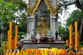 Bangkok, Thailand: Lumphini Park Shrine Stock Photography