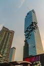 Bangkok, Thailand - March 8, 2017: Mahanakorn, the tallest build