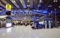 Bangkok, Thailand - November 21, 2013: Passengers walking in Suv Royalty Free Stock Photo