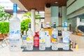 Bangkok,Thailand - October 09,2015: Bottle of Swedish vodka Absolut, Produced by Vin & Sprit. .
