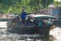 ฺBangkok, Thailand : Passenger boat