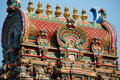 Bangkok, Thailand: Sri Maha Mariamman Temple Royalty Free Stock Photography