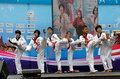 Bangkok, Thailand: Tae Kwan Do Performance Royalty Free Stock Image