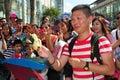 Bangkok, Thailand: Thais at Siam Paragon Plaza Royalty Free Stock Photo