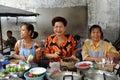 Bangkok, Thailand: Women at Chinatown Restaurant