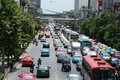 Bangkok, Traffic. Stock Images