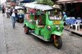 Bangkok tuk tuk Royalty Free Stock Photo