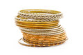 Bangle, Indian bracelets Royalty Free Stock Photo