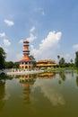 Bangpa in palace Royalty Free Stock Photo