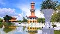 The bangpa-in palace Royalty Free Stock Photo