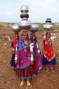 Banjara Women in India Royalty Free Stock Photos