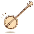 Banjo Stock Photo