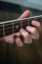 Banjo player Royalty Free Stock Photo