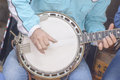 Banjo is string instrument its is musical instrument Royalty Free Stock Photo