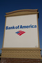 Bank of america jacksonville florida march a sign at a branch in jacksonville is the second largest Stock Image