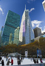 Bank of america tower new york city november in midtown manhattan new york city Royalty Free Stock Image