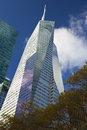 Bank of america tower new york city november in midtown manhattan new york city Royalty Free Stock Photography