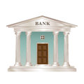Bank building Stock Image