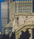Bank city of london Stock Photo