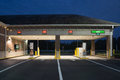 Bank drive thru jacksonville fl may a regions at night regions operates branches and atms across southern states in the u s Royalty Free Stock Image