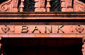 Bank Entrance Royalty Free Stock Photo