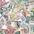 Bank Notes Royalty Free Stock Photo
