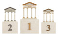 Bank  podium Royalty Free Stock Images