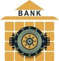Bank safe Royalty Free Stock Photo